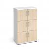 Relax 6 Door Wooden Storage Lockers