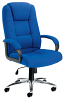 Keno Fabric Executive Chair - Chrome