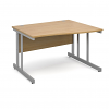Relax Momento left & Right hand Wave Desk with Cantilever Legs