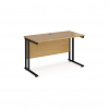 Relax Maestro 25 straight desk 600mm cantilever frame