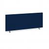 Relax Straight desktop fabric screen 400mm height