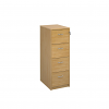 Relax Wooden filing cabinet with silver handles