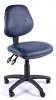Juno Vinyl Medium Back Operator Chair- Dark Blue