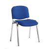 Relax Taurus meeting room stackable chair with frame and no arms
