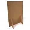 Relax Floor standing protective screen - honeycomb