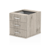 Impulse Fixed Pedestal 3 Drawer with 410mm Height