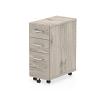Impulse Narrow Under Desk Pedestal 3 Drawer