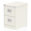 Qube 2 Drawer Filing Cabinet