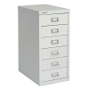 Bisley 6 Drawer Home 29 Series Steel Multidrawer - Goose Grey