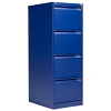 Bisley 4 Drawer Classic Steel Filing Cabinet