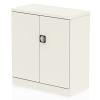 Qube Stationery 1000mm 2-Door Cupboard With Shelf