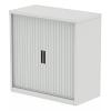 Qube 1000mm Side Tambour Cupboard No Shelves