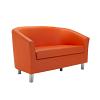 TUB LUX SOFA METAL-orange
