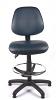 Juno Vinyl Medium Back Draughtsman Chair - Dark Blue3
