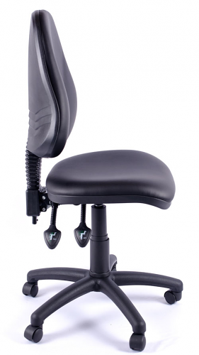 Juno Vinyl High Back Operator Chair