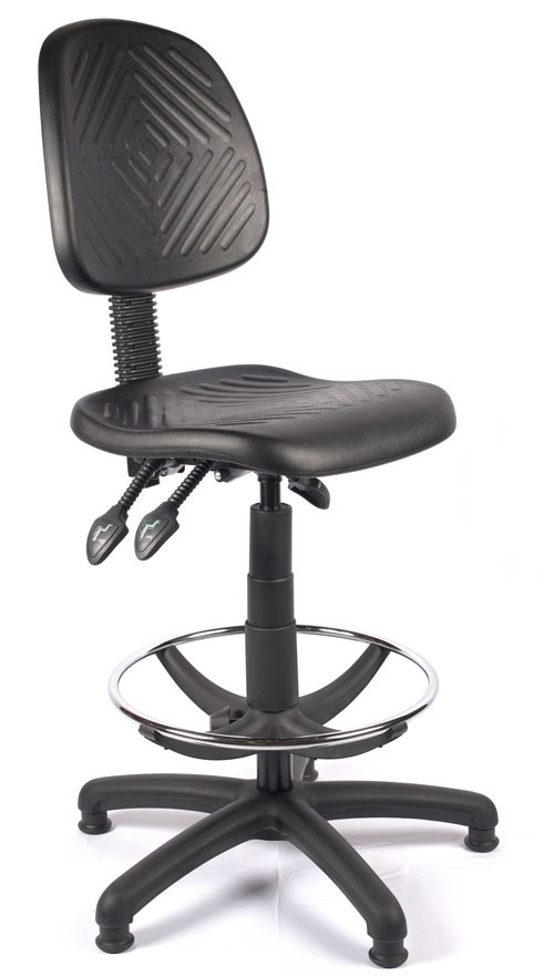 Bodmin Deluxe Polyurethane Draughtsman Chair | EBay