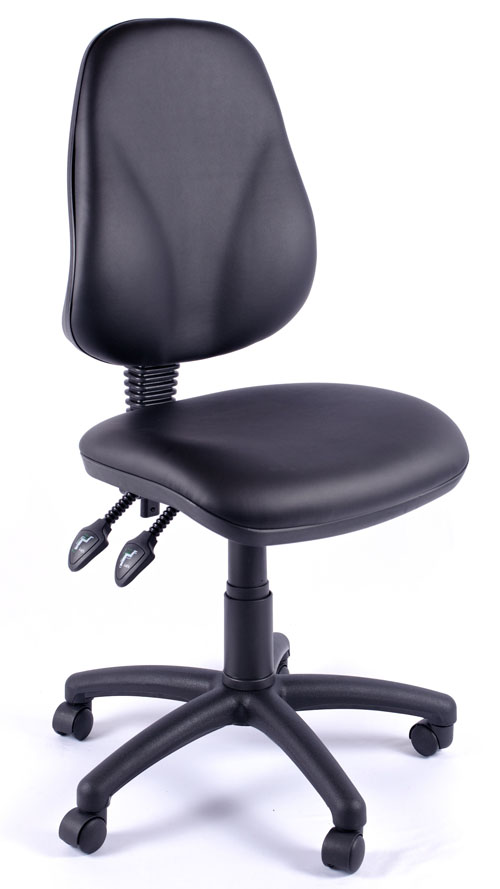 Juno Vinyl High Back Operator Chair