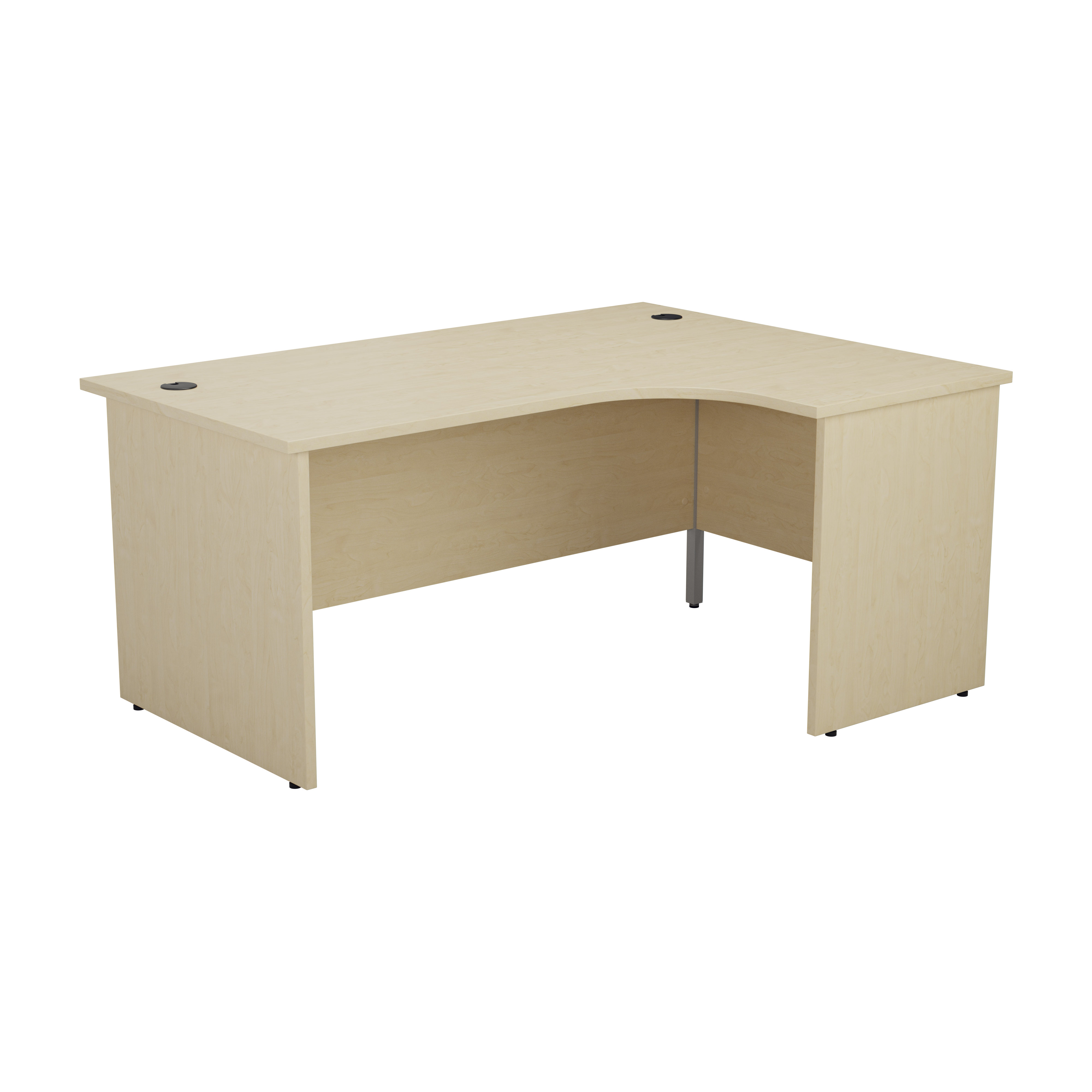 Essentials - 1800mm Panel End Right Hand Crescent Desk