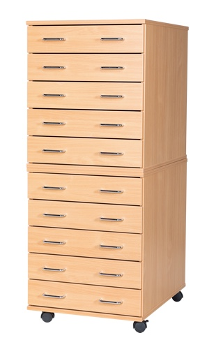 10 Drawer A2 Planchest