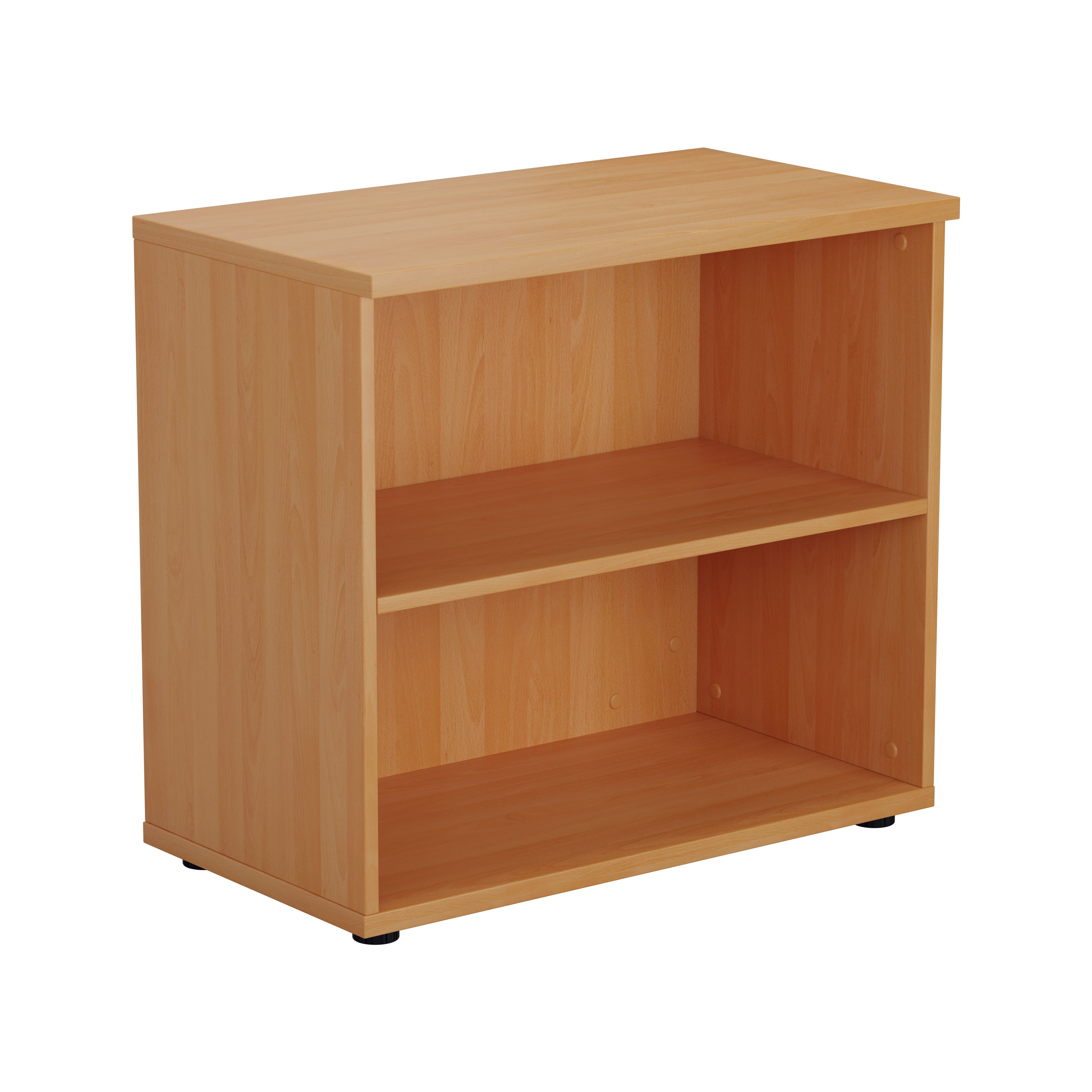 Essentials - Desk High Bookcase with 730mm Height