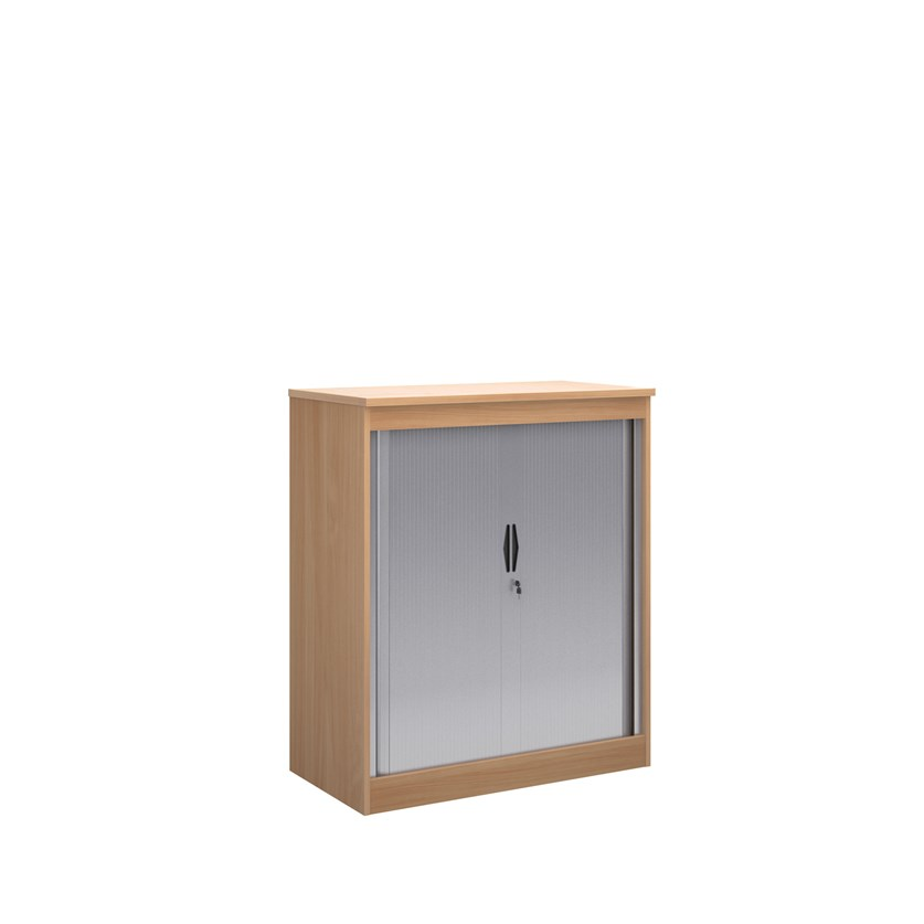 Systems Horizontal Tambour Door Cupboard 1200mm Height