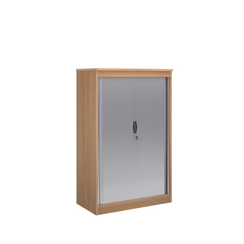 Systems Horizontal Tambour Door Cupboard 1600mm Height