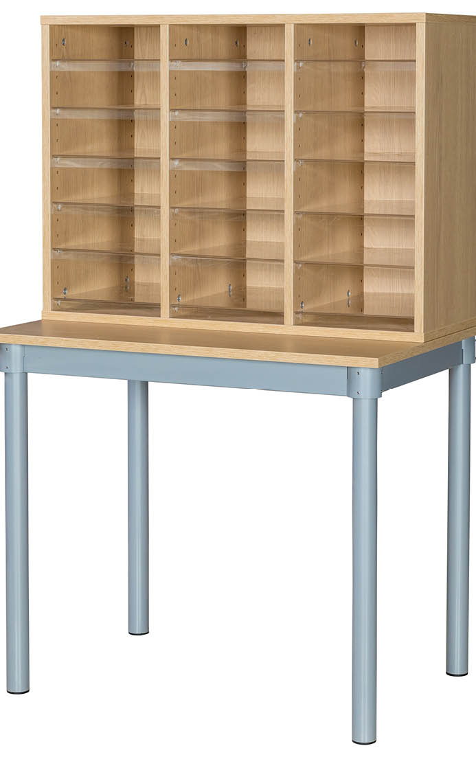 Premium Pigeonhole Unit With 18 Spaces and Table