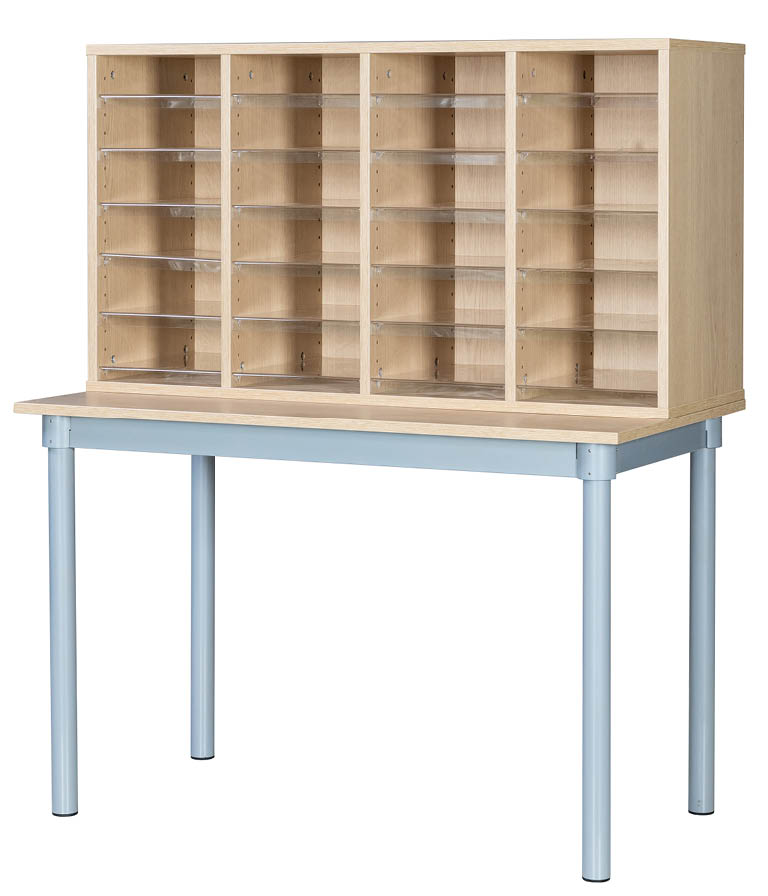 Premium Pigeonhole Unit With 24 Spaces and Table