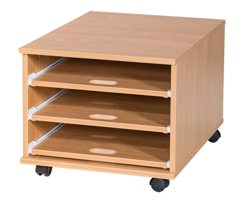 3 Sliding Shelves A2 Paper Storage