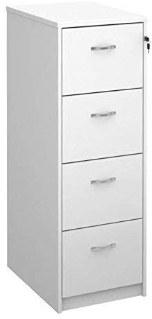 Deluxe 4 Drawer Filing Cabinet