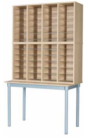 Premium Pigeonhole Unit With 48 Spaces and Table