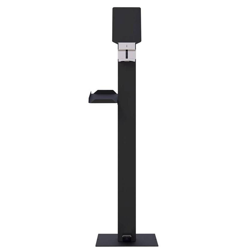Relax Metal gel dispenser - anthracite