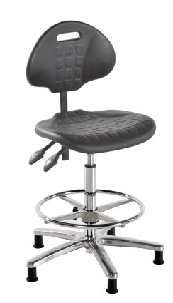 Polyurethane ESD Conductive Draughtsman Chair