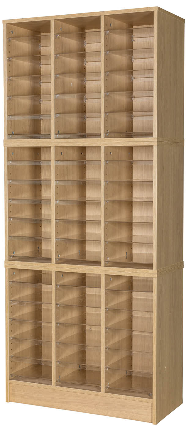 Premium Triple Pigeonhole Unit With 54 Spaces