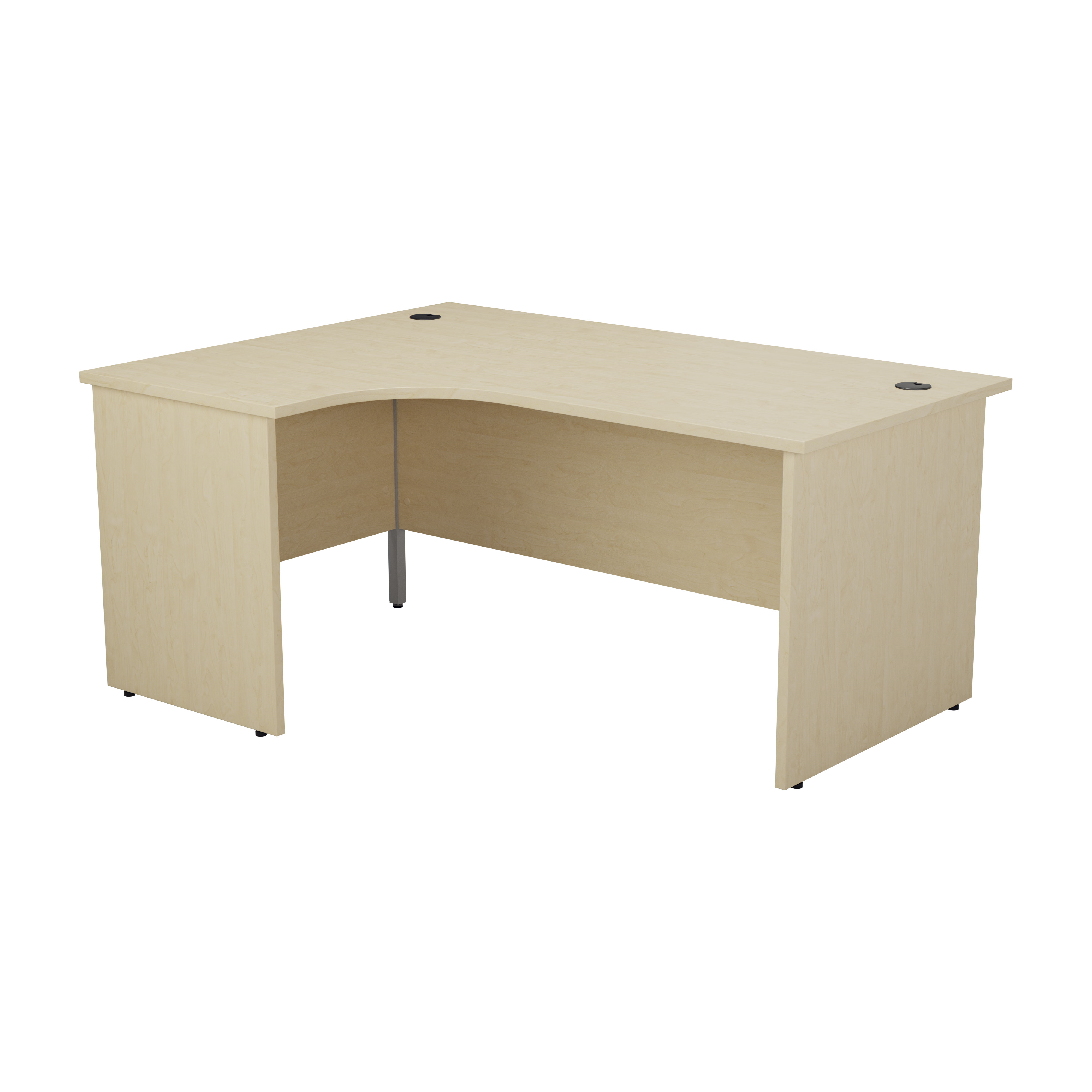 Essentials - 1600mm Panel End Left Hand Crescent Desk