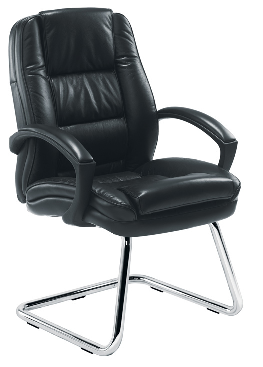 Colorado Cantilever Leather Conference Chair