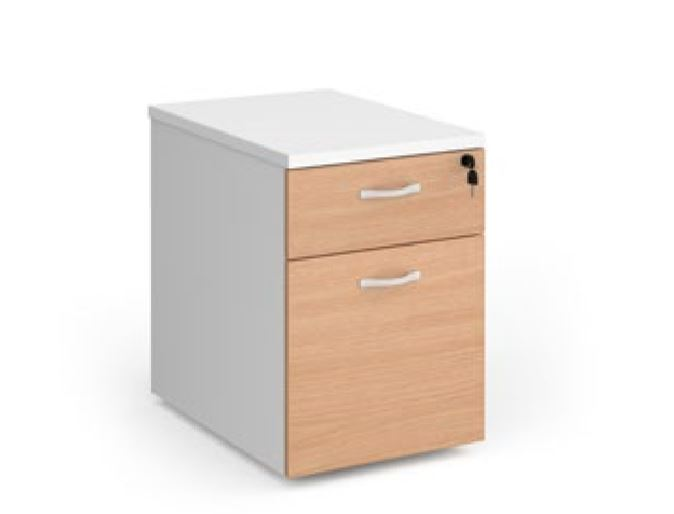 Relax Two Drawer Deluxe Mobile Pedestal