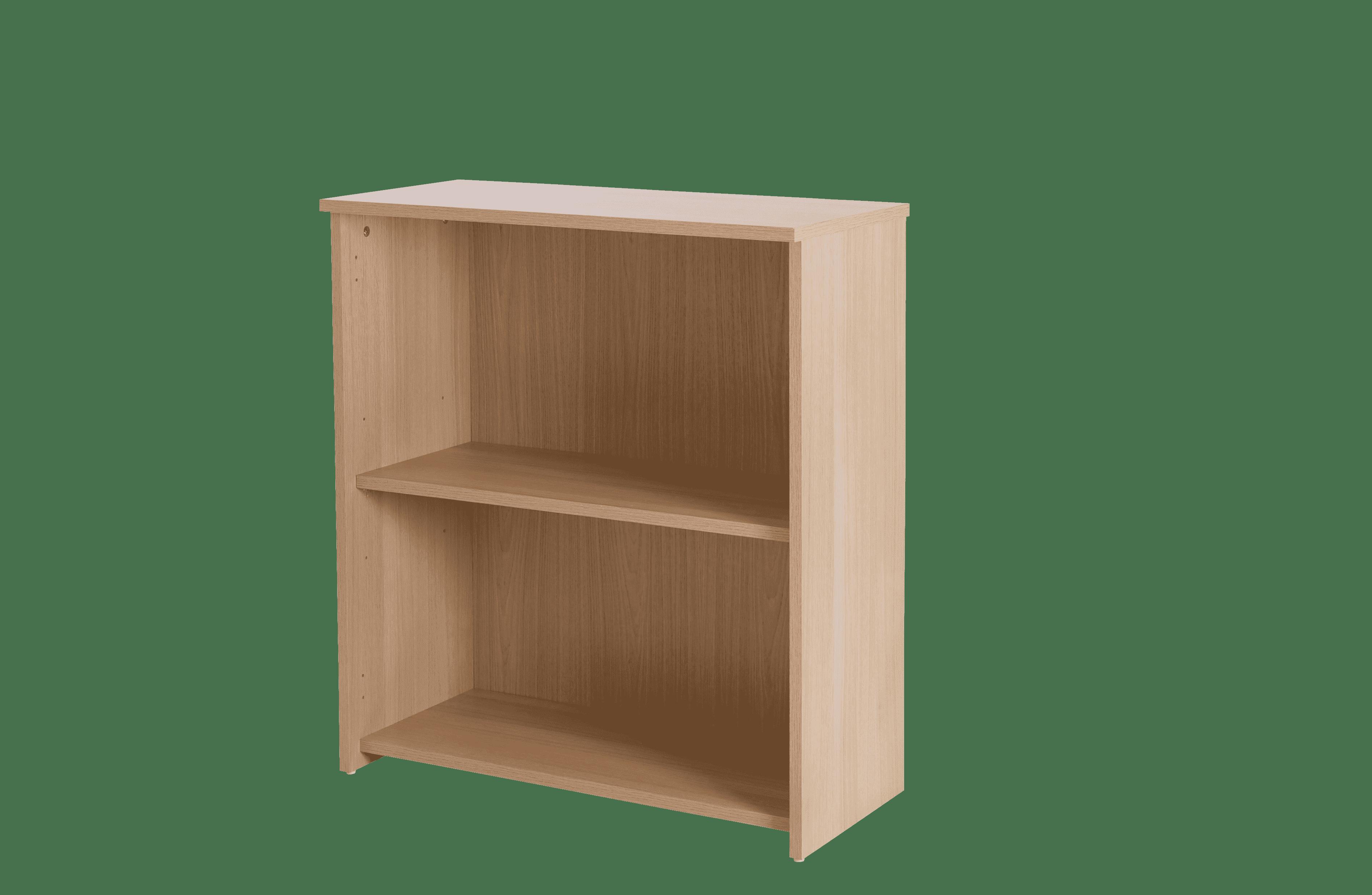 Basix 800mm Height Basic bookcase