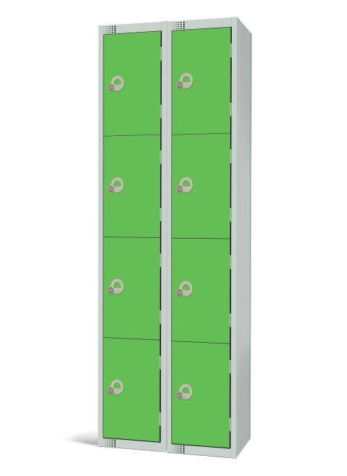 Four Door Locker - Nest of 2