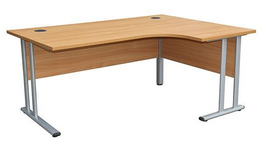 Smart - 1600mm Right Hand Crescent Desk