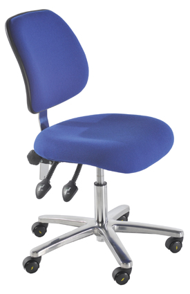 ESD Conductive Low Chair in Fabric
