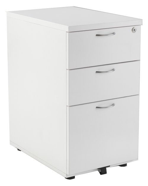 Smart - 3 Drawer Desk High Pedestal