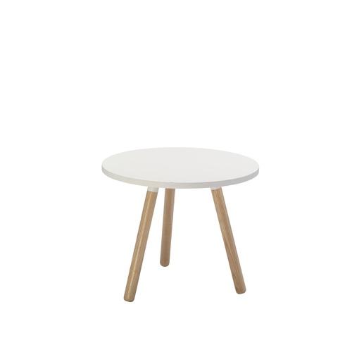 TRIPOD COFFEE TABLE - White