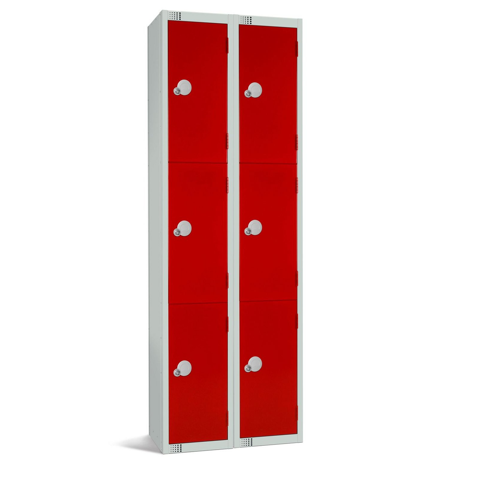 Three Door Locker - Nest of 2