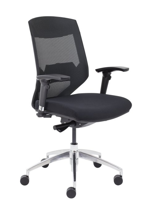 Vogue Mesh Back Office Chair with Black Seat