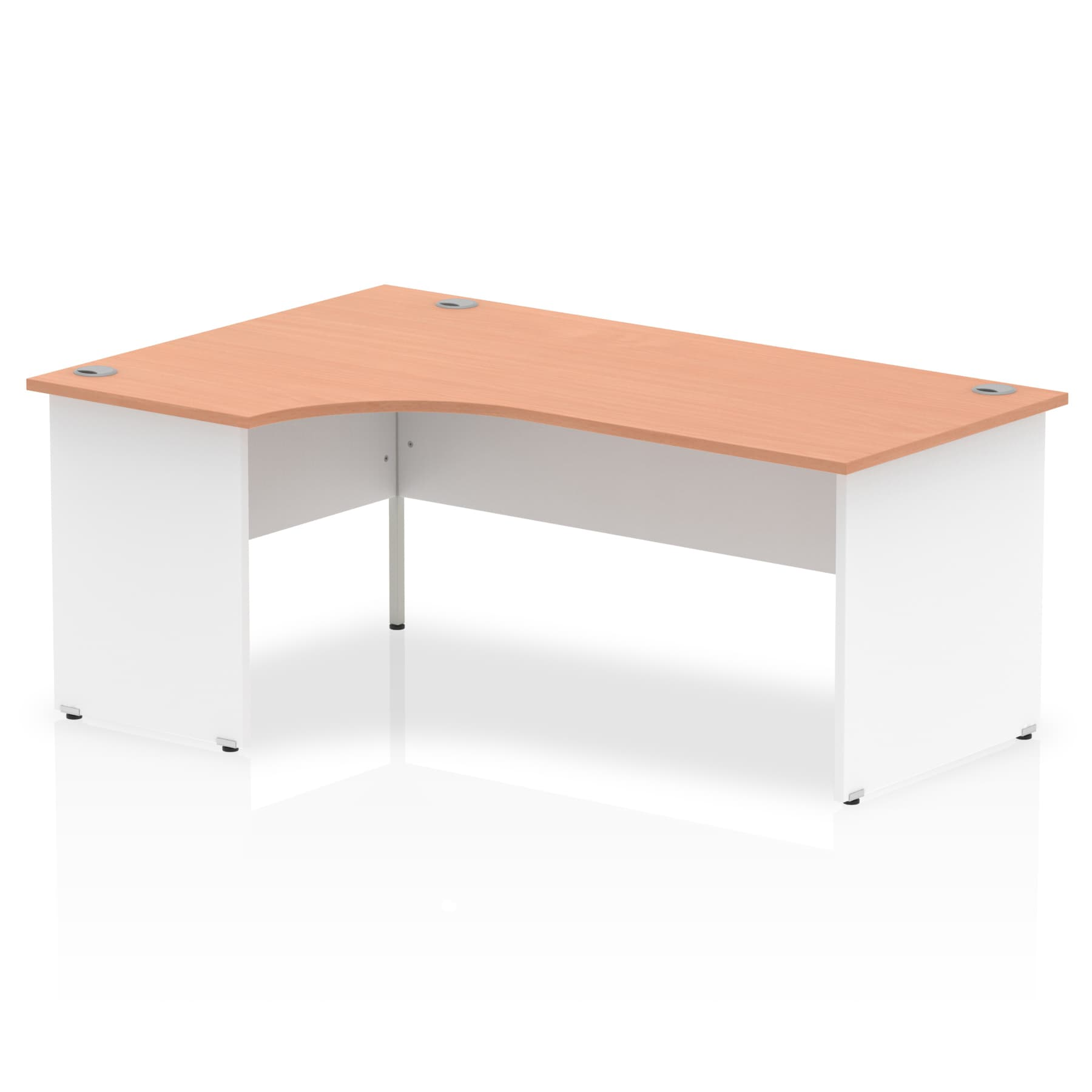 Impulse Panel End 1800 Left Hand Crescent Desk