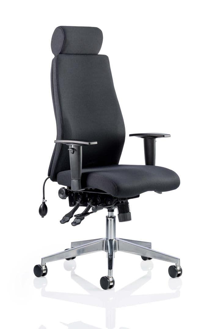 Onyx Ergo Posture Chair With Headrest