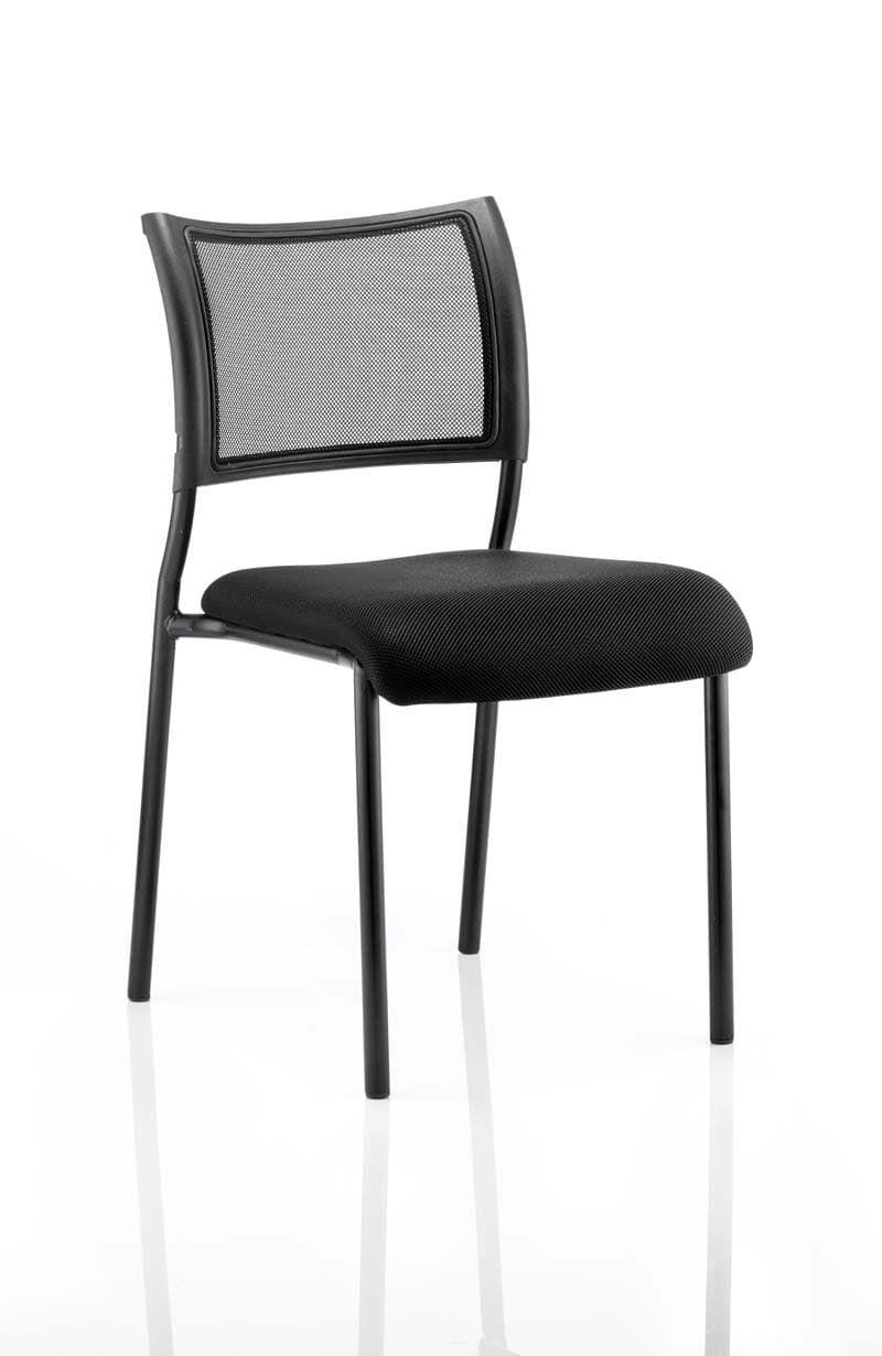 Brunswick No Arm Bespoke Colour Seat Black Frame