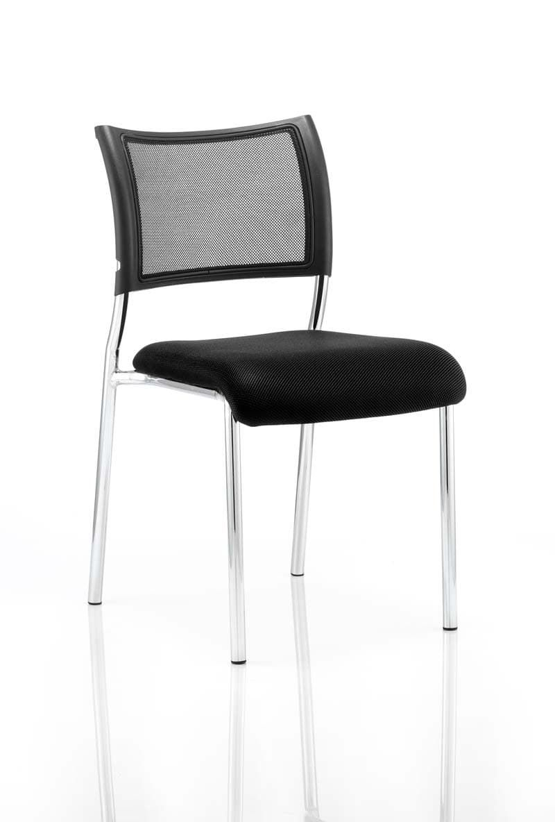 Brunswick No Arm Bespoke Colour Seat Chrome Frame