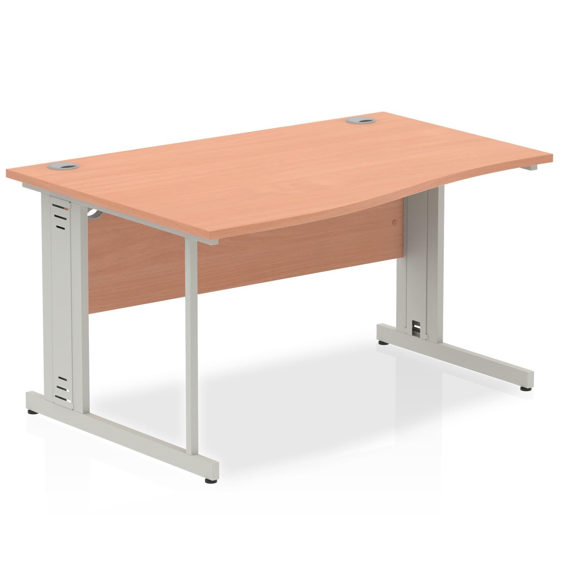 Impulse 1400 Left Hand Wave Desk